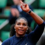 Serena Williams espera a su hermana en la final de Wimbledon